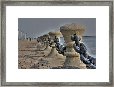 Lake Erie Framed Print by David Bearden