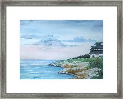 Lake Erie Framed Print