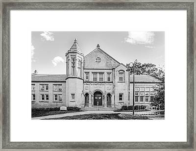 Lake Forest College Reid Hall Framed Print by University Icons