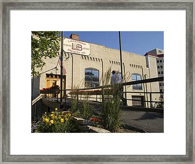 Lake Front Brewery Framed Print