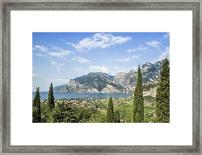 Lake Garda Gorgeous Italy Framed Print