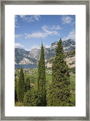 Lake Garda Wonderful View Framed Print