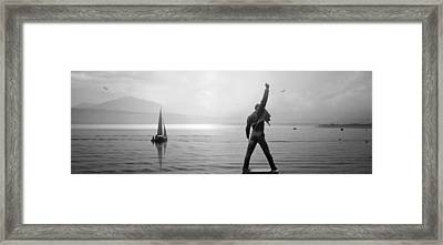 Lake Geneva Framed Print