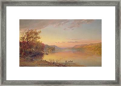 Lake George  Ny Framed Print