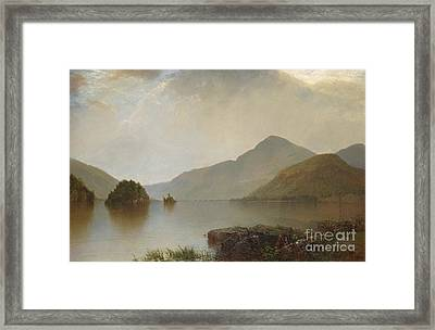 Lake George, 1869 Framed Print
