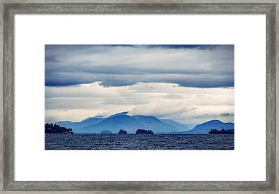 Lake George Is The Queen Of American Lakes Framed Print