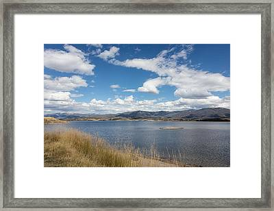 Framed Print featuring the photograph Lake Granby -- The Third-largest Body Of Water In Colorado by Carol M Highsmith