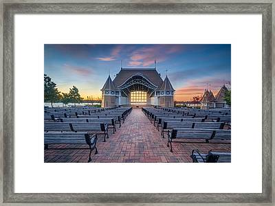 Lake Harriet Bandshell Framed Print by RC Pics