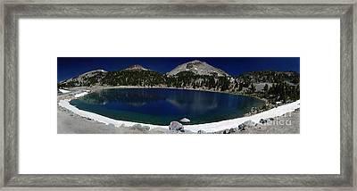 Lake Helen Lassen  Framed Print by Peter Piatt