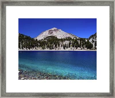 Framed Print featuring the photograph Lake Helen Mount Lassen 2 by Frank Wilson