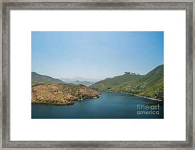 Lake Hodges Framed Print by Alexander Kunz