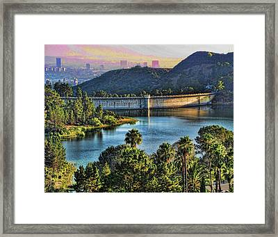 Lake Hollywood Framed Print