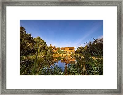 Lake House Framed Print by Svetlana Sewell