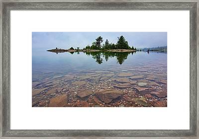 Lake Huron Island Framed Print