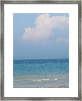 Lake Huron Framed Print by Ralph Baginski