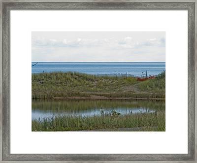 Framed Print featuring the photograph Lake Huron by Tara Lynn