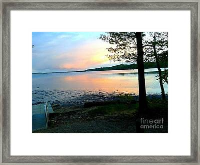 Lake In Virginia Framed Print