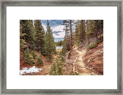 Lake Irene Framed Print