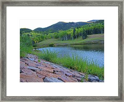 Framed Print featuring the photograph Lake Isabel Colorado by Tammy Sutherland