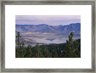 Lake Isabella Framed Print by Soli Deo Gloria Wilderness And Wildlife Photography
