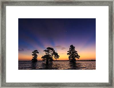 Lake Istokpoga Sunrise Framed Print