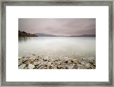 Lake Jocassee 12 Framed Print by Derek Thornton