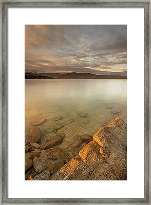Lake Jocassee 17 Framed Print by Derek Thornton
