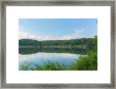 Lake Junaluska #3 September 9 2016 Framed Print