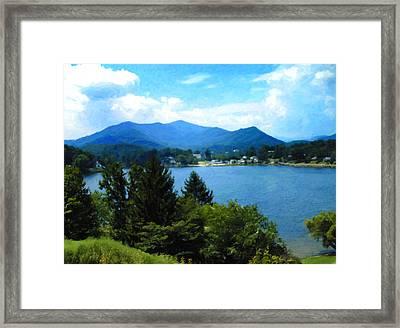 Lake Junaluska Nc Framed Print
