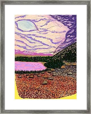 Lake La Story Framed Print by Ishy Christine Degyansky