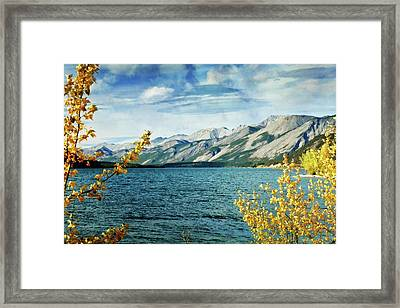 Lake Lake Framed Print by Marty Koch