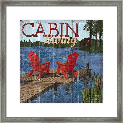 Lake Living I Framed Print