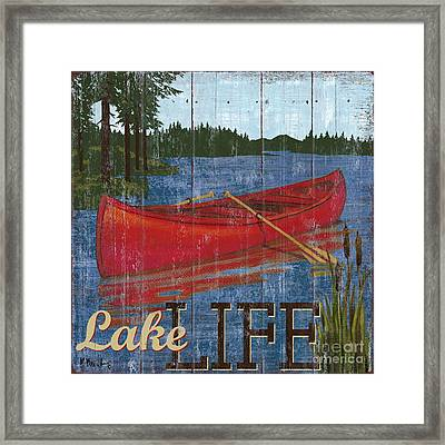 Lake Living II Framed Print