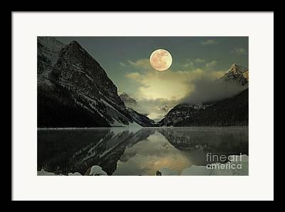 Lake Poster Framed Prints