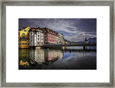 Lake Lucerne  Framed Print by Carol Japp