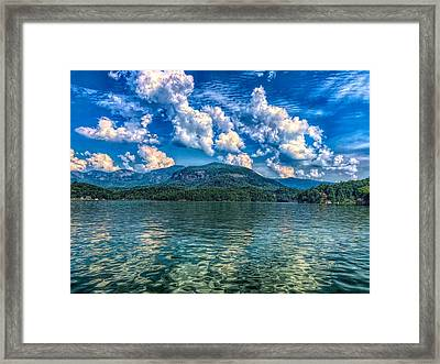 Lake Lure Beauty Framed Print