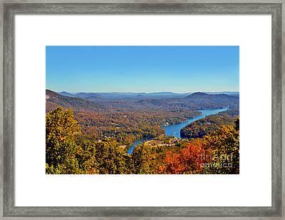 Lake Lure IIi Framed Print