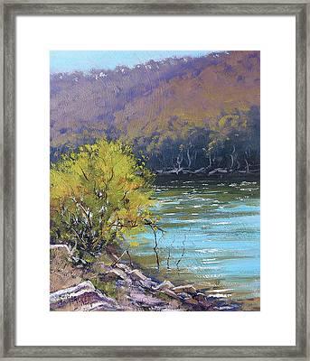 Lake  Lyell Reflections Framed Print by Graham Gercken