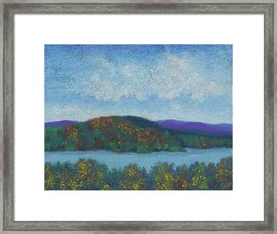 Lake Mahkeenac Framed Print