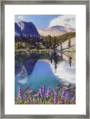 Lake Marie Framed Print by Zanobia Shalks