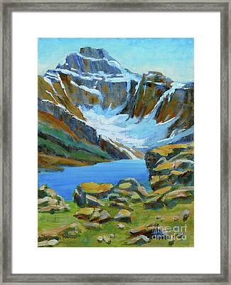 Lake Mcarthur Framed Print