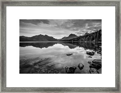 Lake Mcdonald Framed Print
