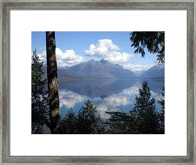 Lake Mcdonald Glacier National Park Framed Print by Marty Koch