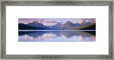 Lake Mcdonald Glacier National Park Mt Framed Print