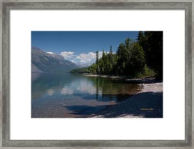 Lake Mcdonald Montana Framed Print