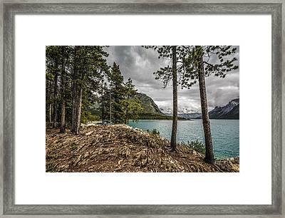 Lake Minnewanka Framed Print