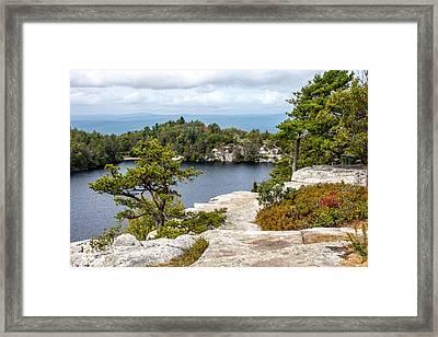 Lake Minnewaska View Framed Print