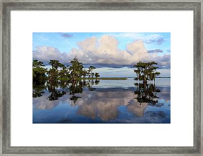 Lake Mirror Framed Print
