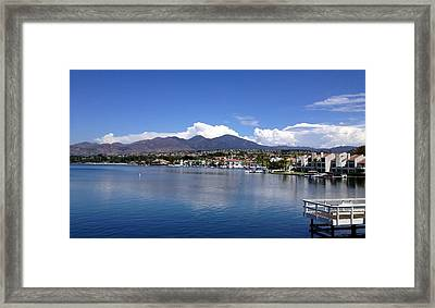 Lake Mission Viejo Framed Print