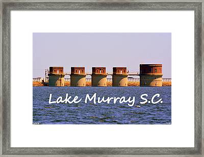 Lake Murray S C Framed Print